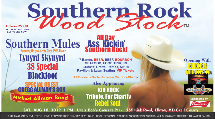 Southern Rock Woodstock---Cecil County Maryland