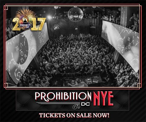 Prohibition NYE DC