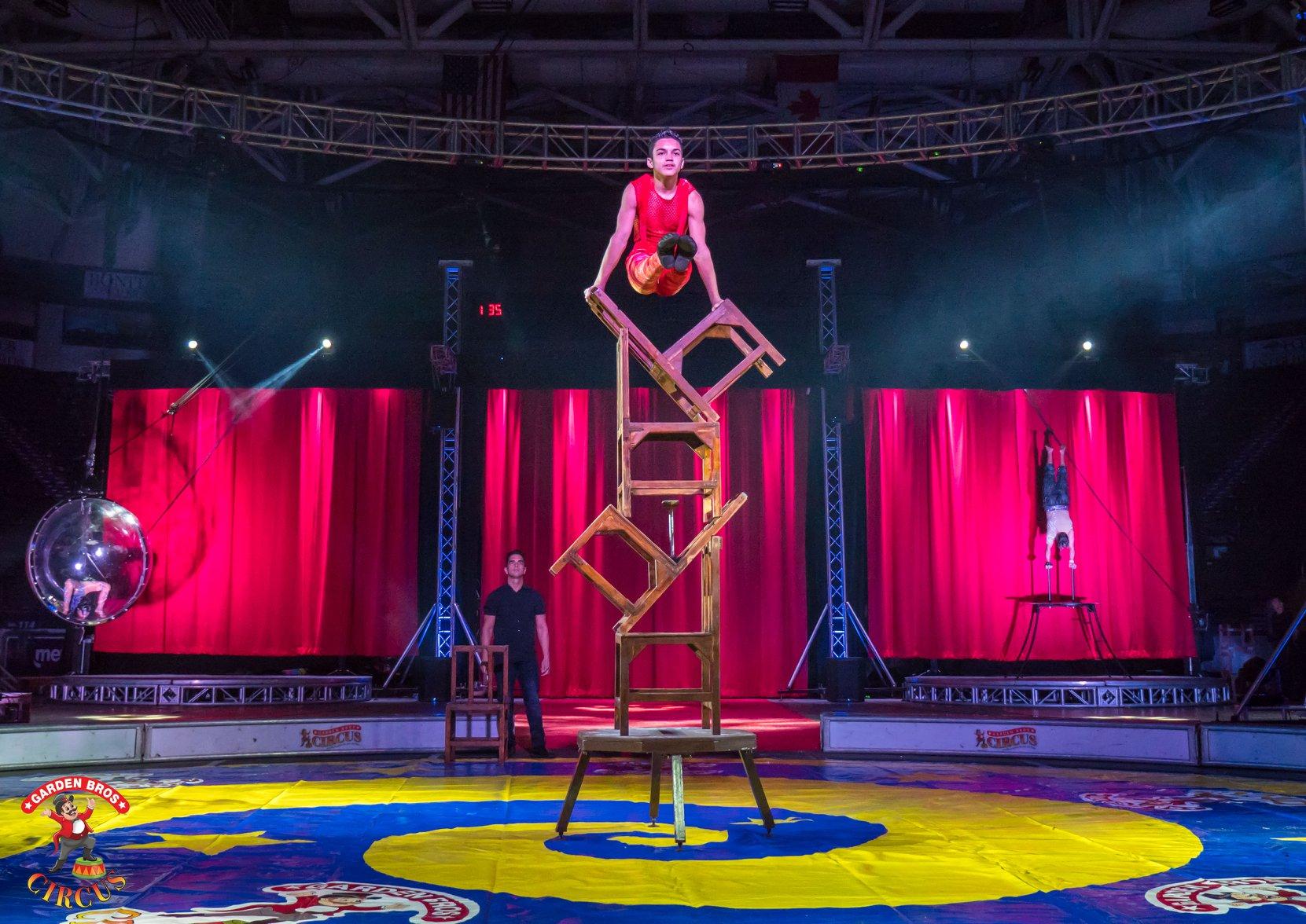 Official Garden Bros Circus Tickets Kissimmee Fl 7 30pm 11 24 2020 Tuesday