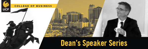 Dean's Speaker Series - Mastering Creative and Entrepreneurial Leadership