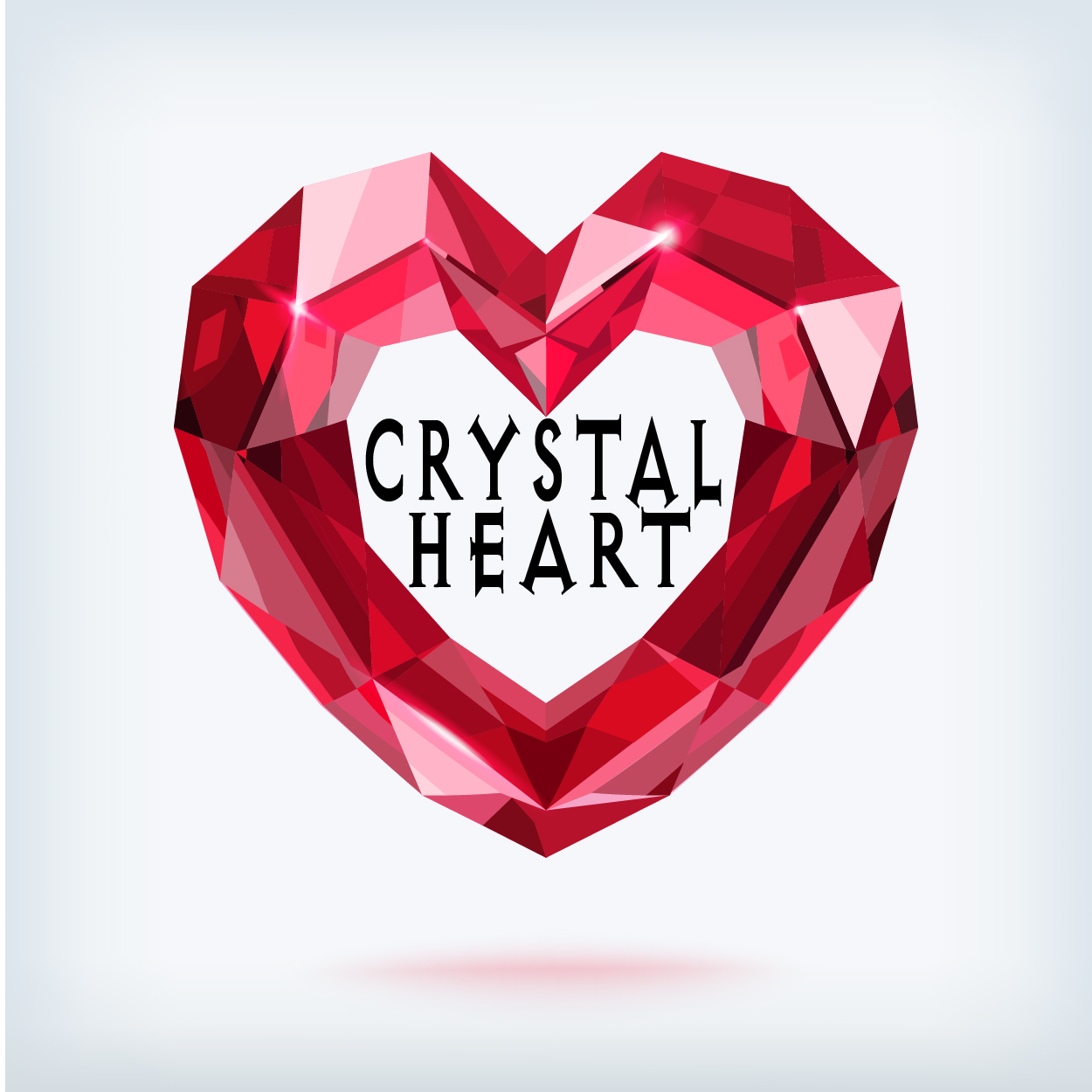 Crystal Heart Circle