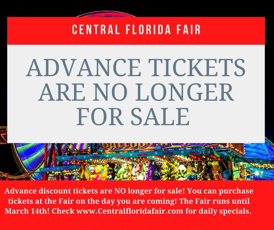 2021 Central Florida Fair Advanced Tickets