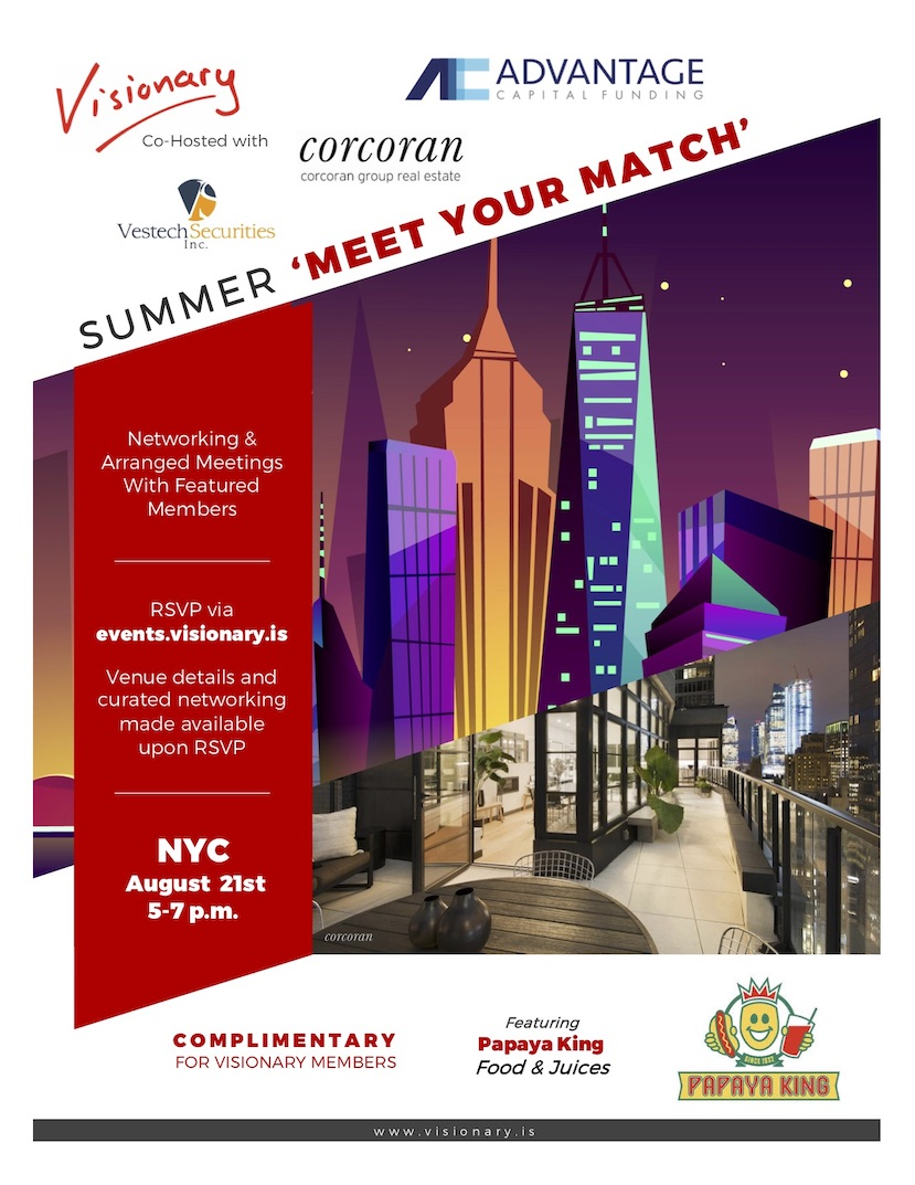 Visionary NYC Co-Hosted 'Meet Your Match' Penthouse Gathering