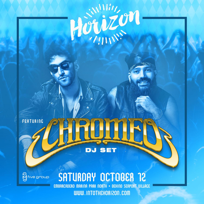 Horizon Beer & Music Festival Featuring CHROMEO!