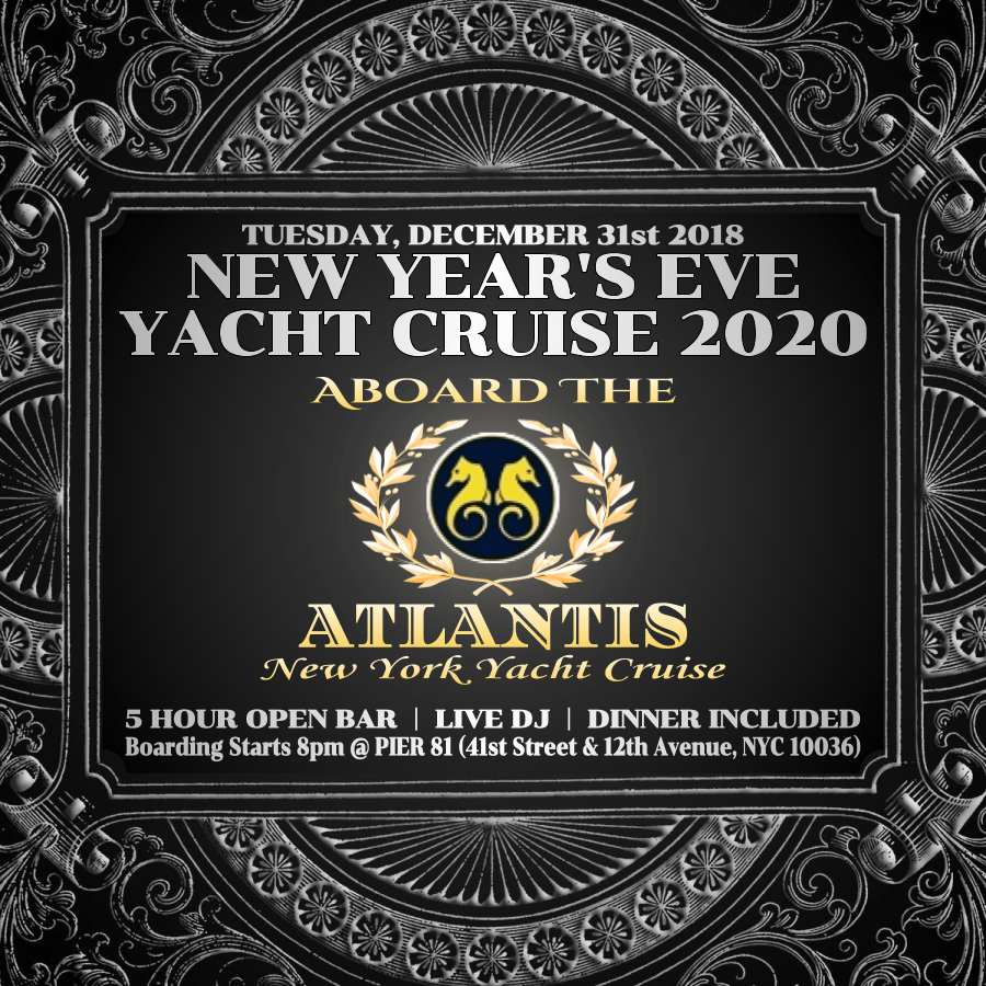 Atlantis Yacht Cruise NYE 2020