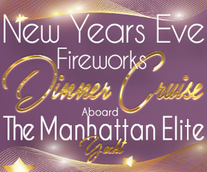 NYE 2021 Fireworks Dinner Cruise Aboard the Manhattan Elite