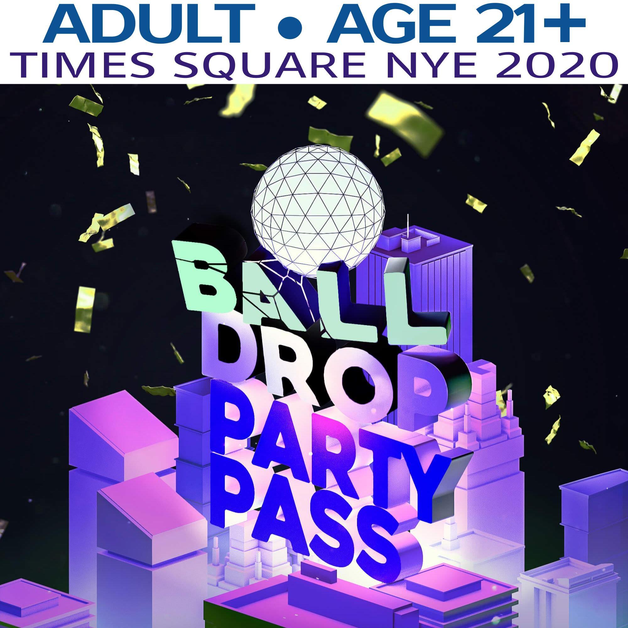 TSQ Party Pass (Age 21+) NYE 2020