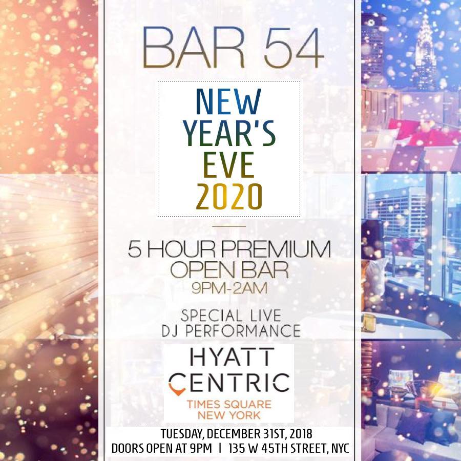 Bar 54 NYE 2021