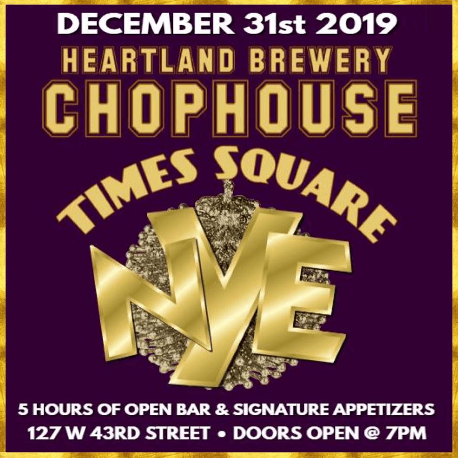 Chophouse NYE 2020