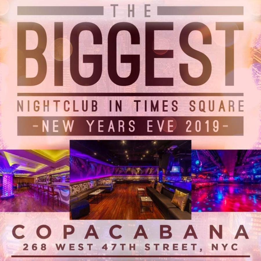 Copacabana NYE 2019