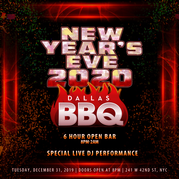 Dallas BBQ NYE 2020