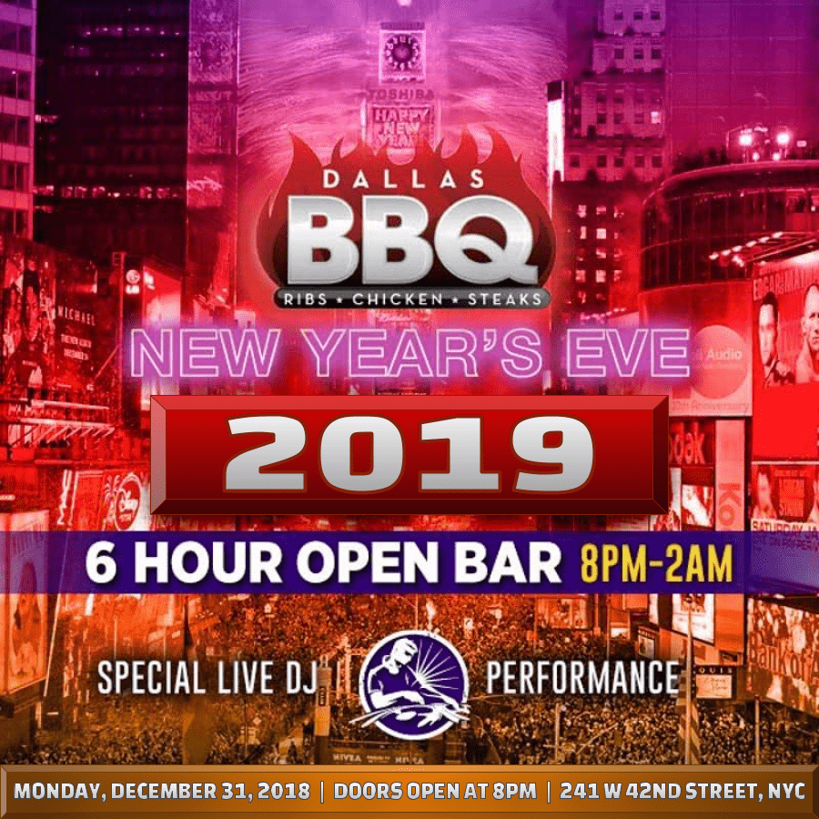 Dallas BBQ NYE 2020