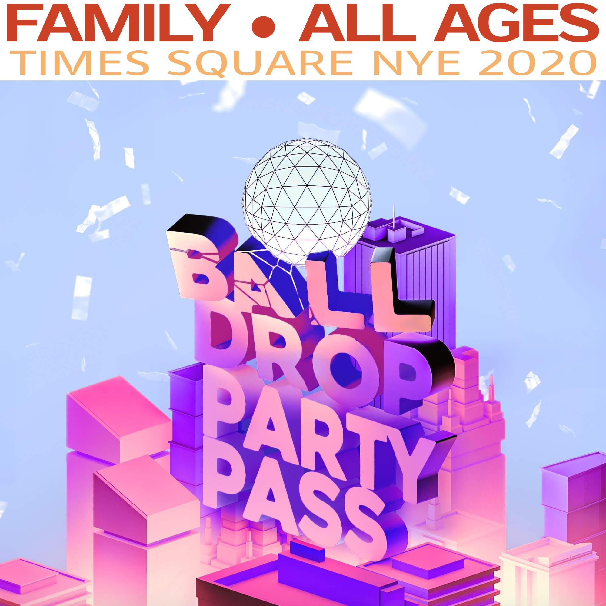 TSQ Family Pass (All Ages) NYE 2020