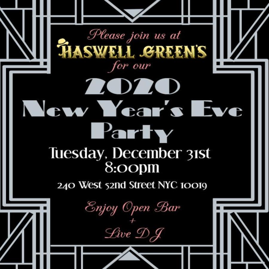 Haswell Greens NYE 2020