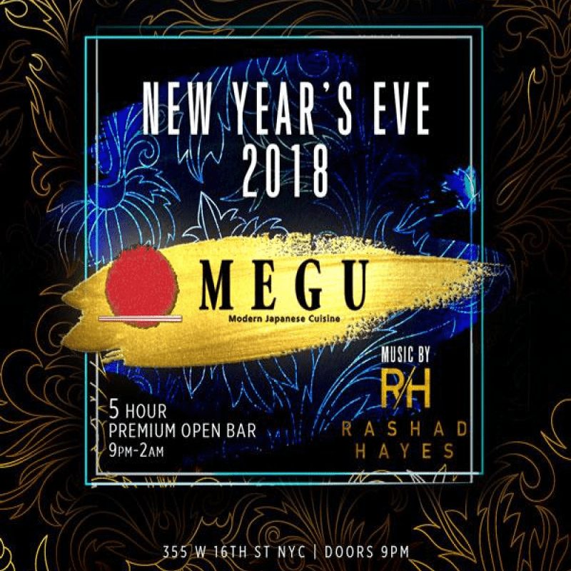 Megu New Years Eve 2018