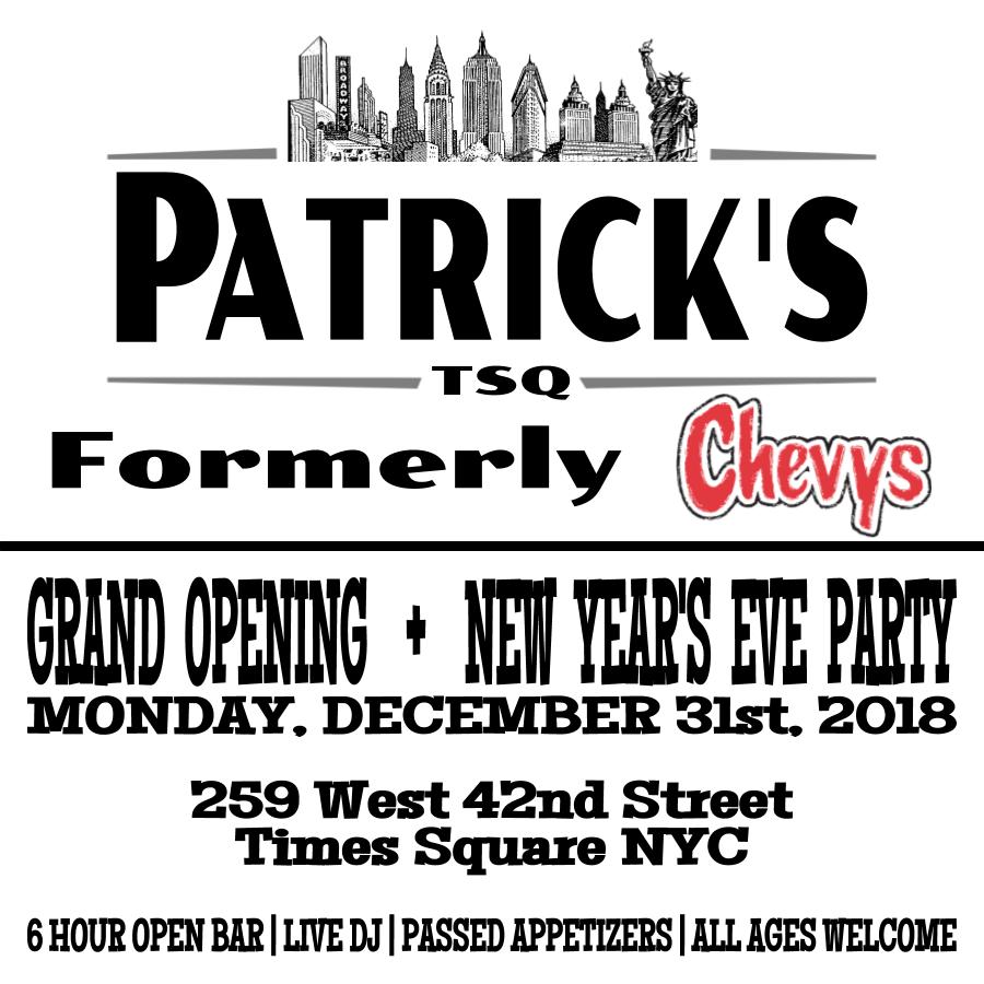Patricks NYE 2019