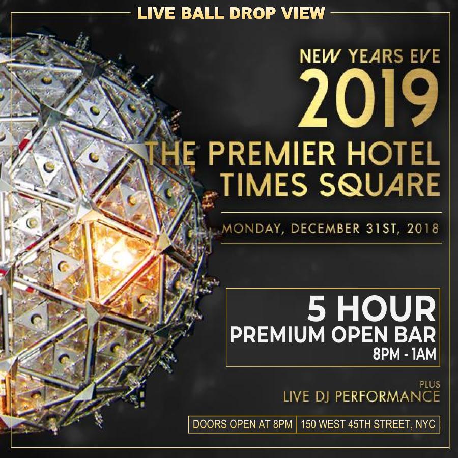 Premier Hotel Penthouse NYE 2019