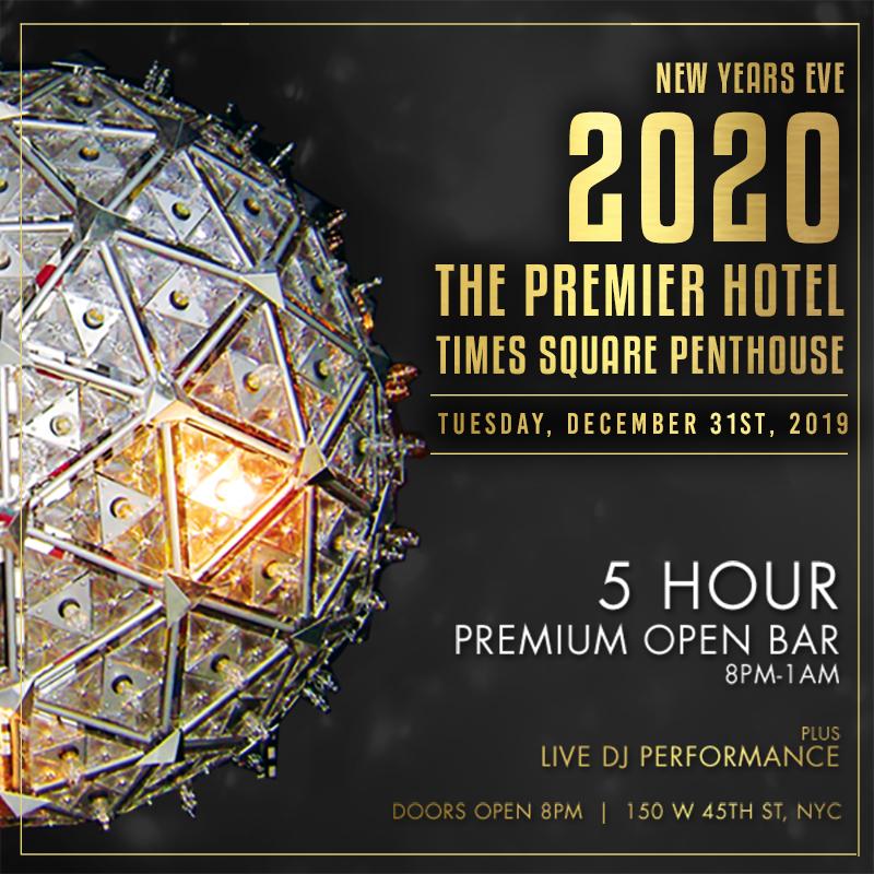 Premier Hotel Penthouse NYE 2020