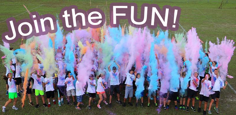 2018 Yoncalla High School Color Run