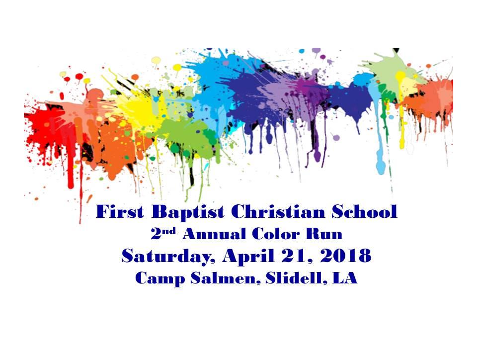 2018 - First Baptist Christian School - Slidell LA