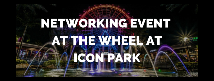 Networking Event at the Wheel at ICON Park