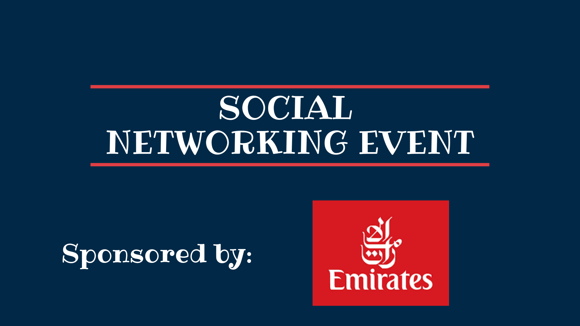 Social Networking Event