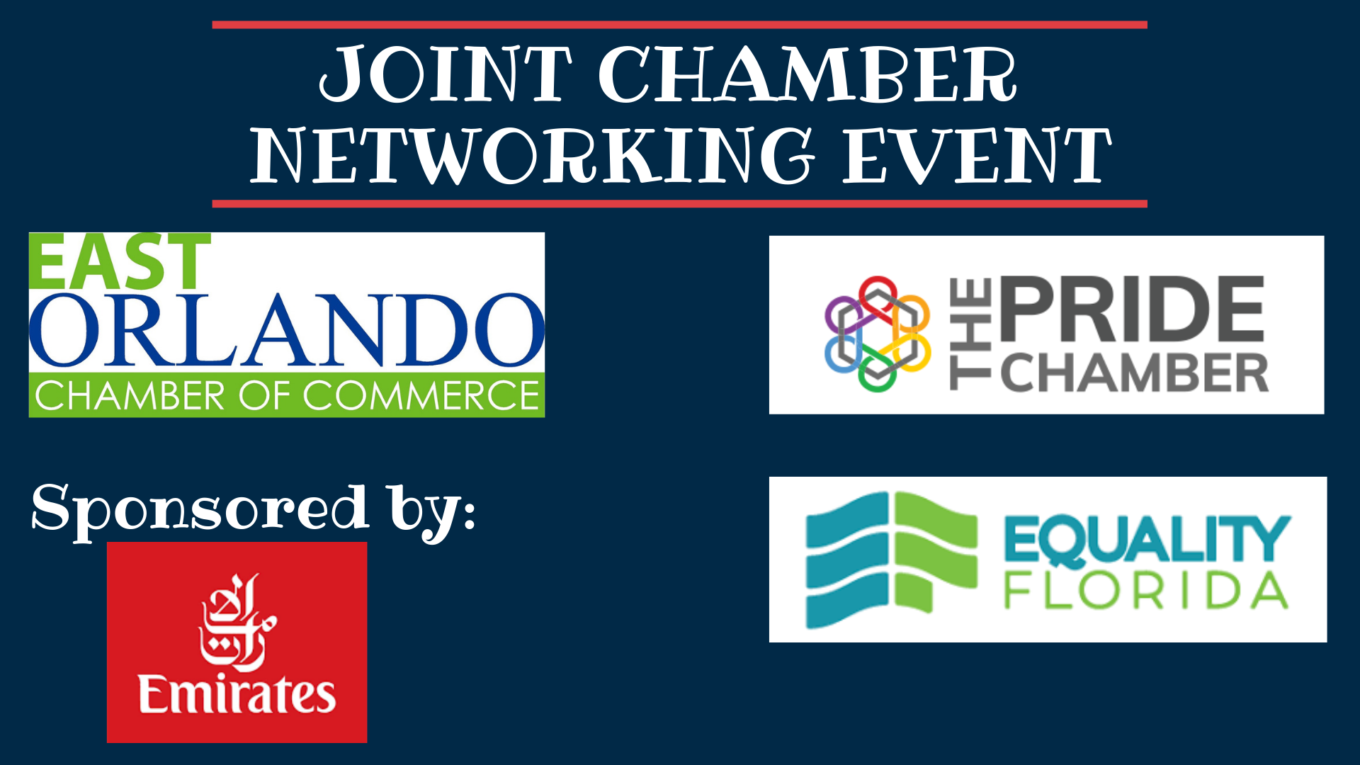 Joint Chamber Networking Event