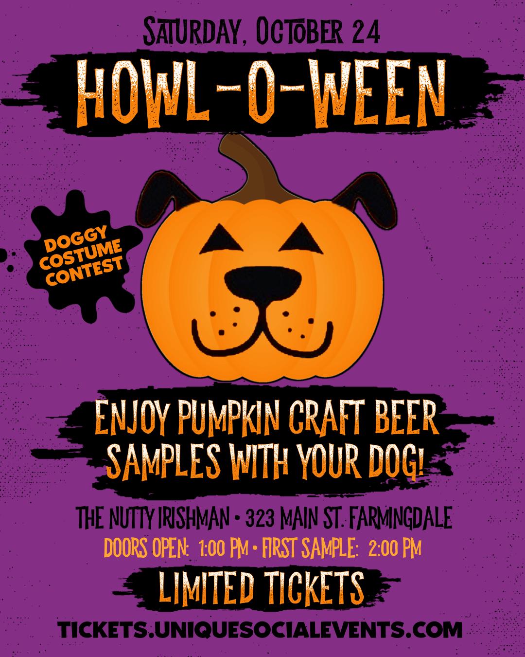 Howl-O-Ween Pumpkin Beer Tasting