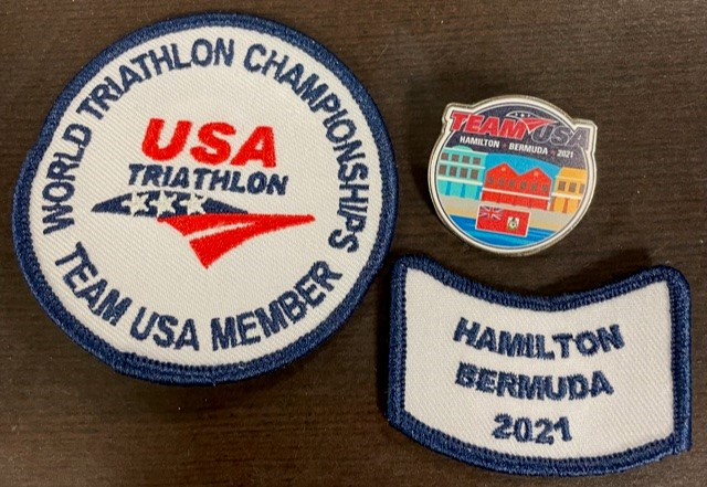 2021 Team USA Bermuda Pins and Patches