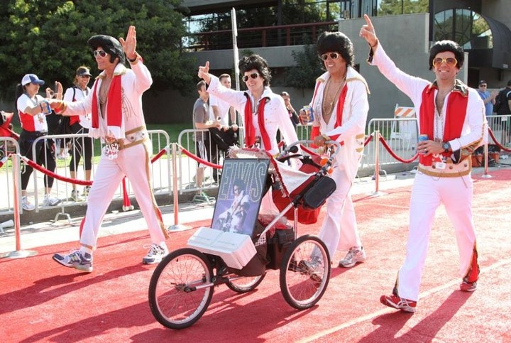 Red Carpet Finish Line