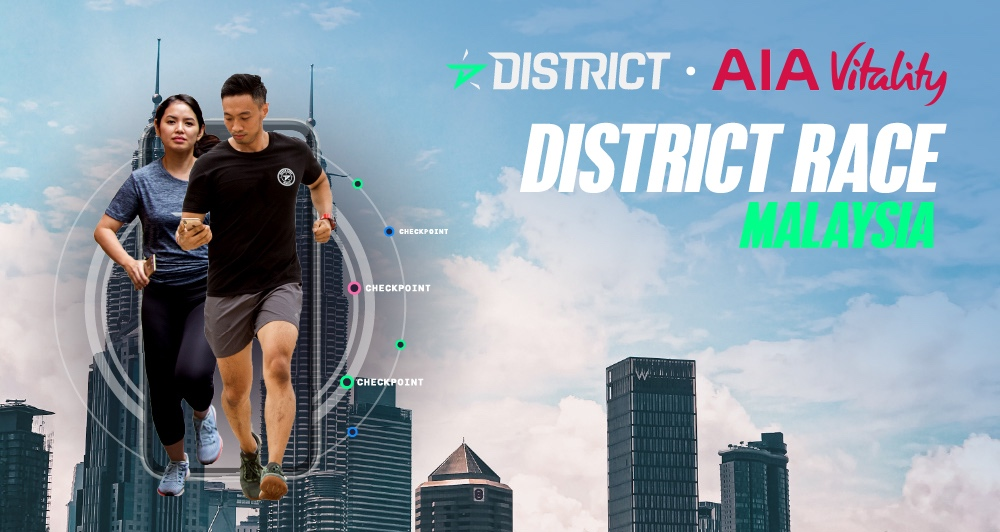 District Race Malaysia by AIA Vitality