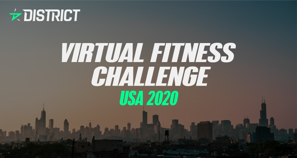 Virtual Fitness Challenge, powered by District
