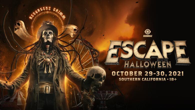 Escape Halloween 2021 Locker Rental