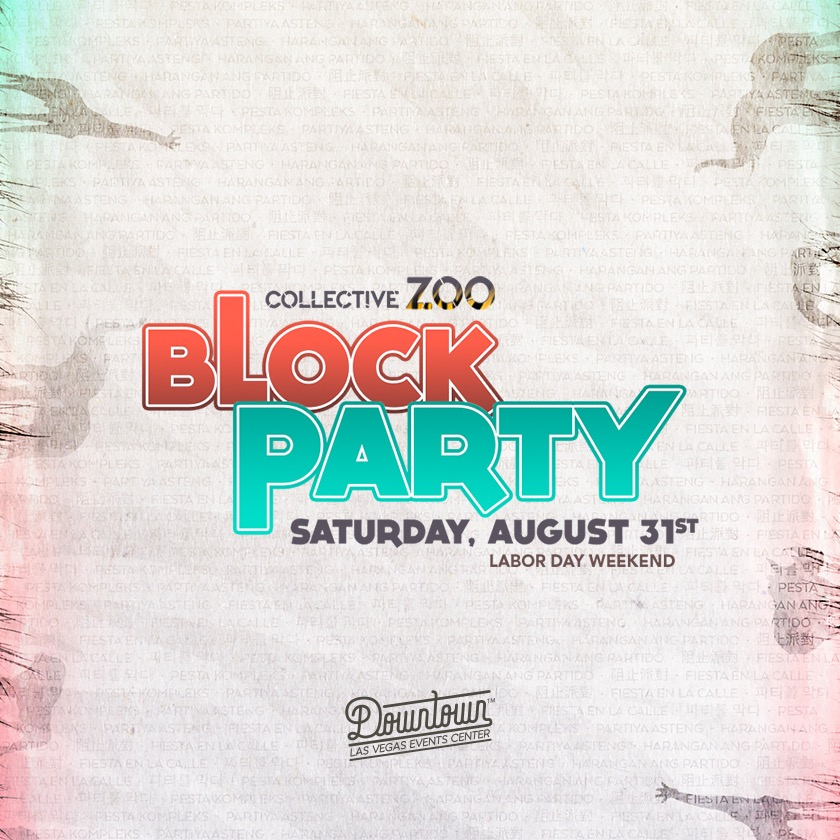 Collective Zoo Block Party - Locker Rental