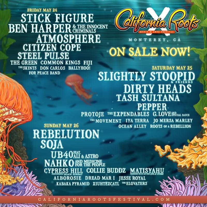 California Roots Music & Arts Festival - Locker Rental