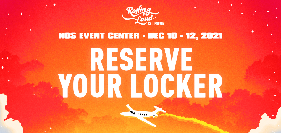 Rolling Loud California 2021 Locker Rental