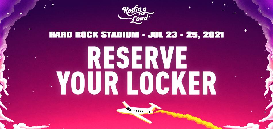 Rolling Loud Miami 2021 Locker Rental