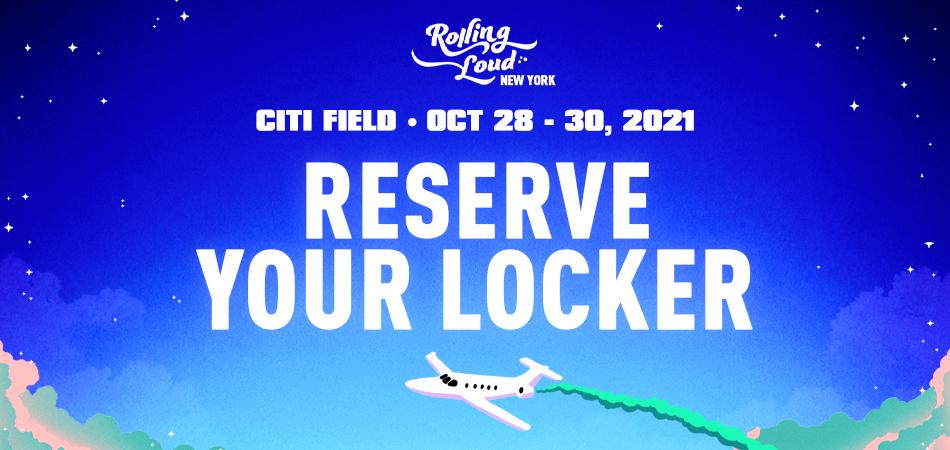Rolling Loud New York 2021 Locker Rental