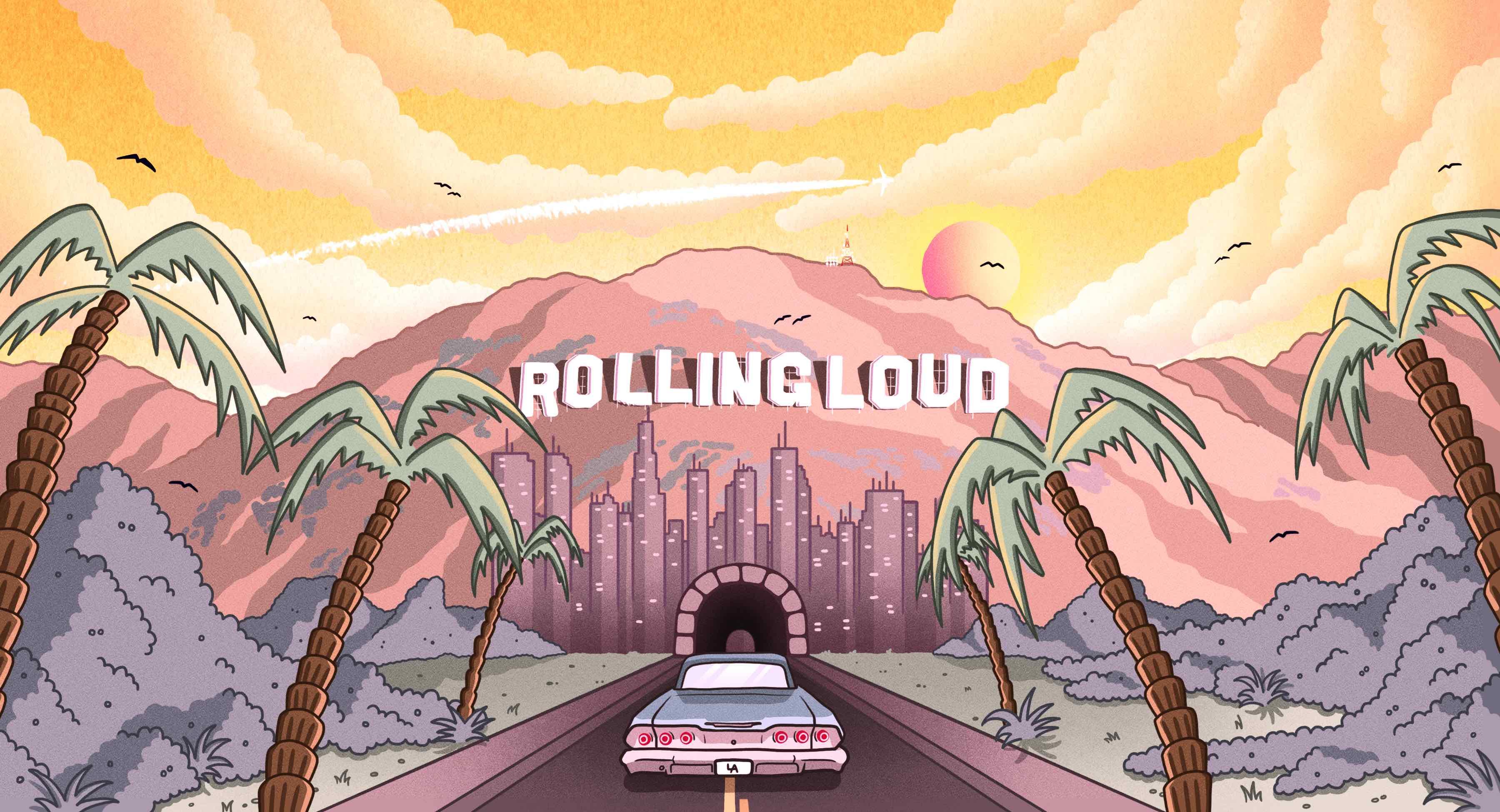 Rolling Loud Los Angeles 2019 - Locker Rental
