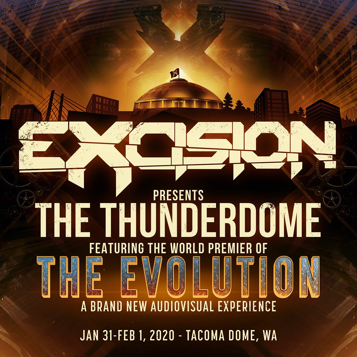 Excision Presents The Thunderdome - Locker Rental