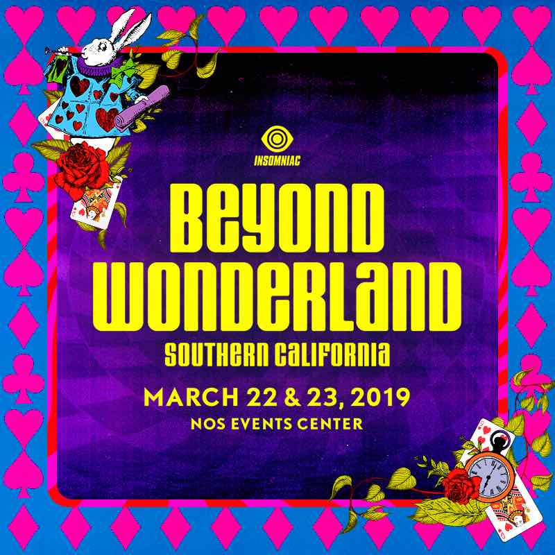 Beyond Wonderland - Locker Rental
