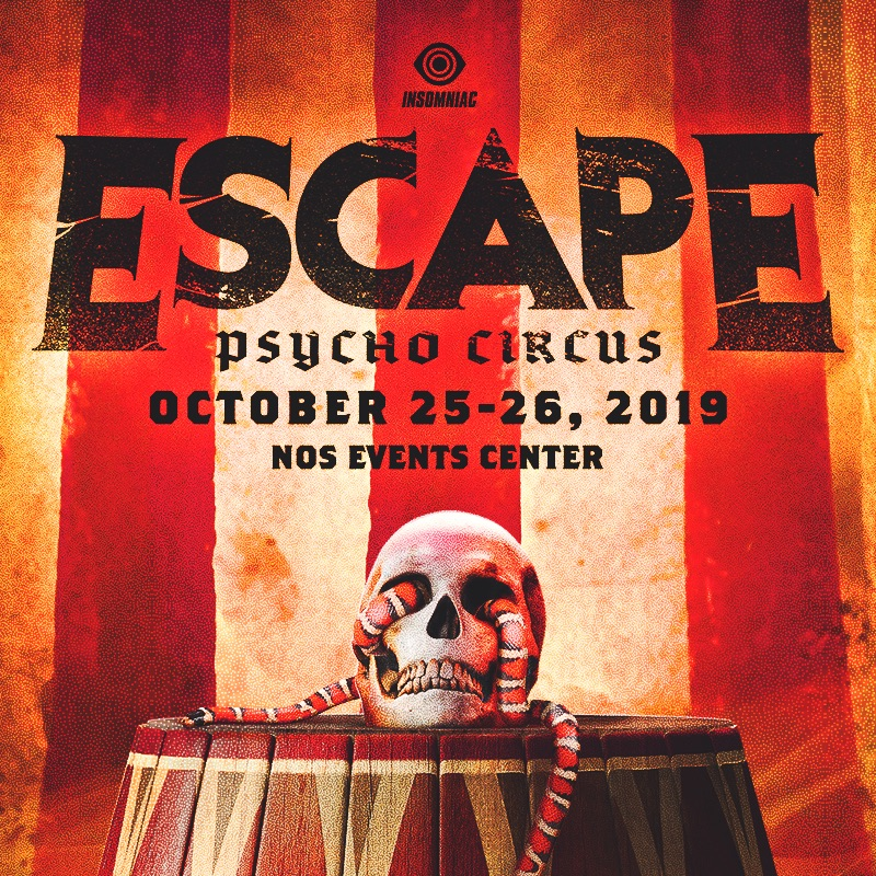 Escape Psycho Circus - Locker Rental