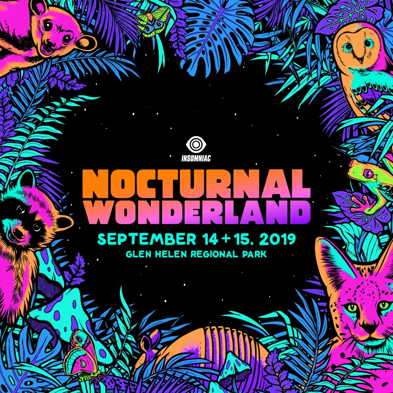Nocturnal Wonderland - Locker Rental