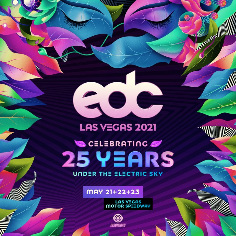 EDC Las Vegas 2021 - Locker Rental
