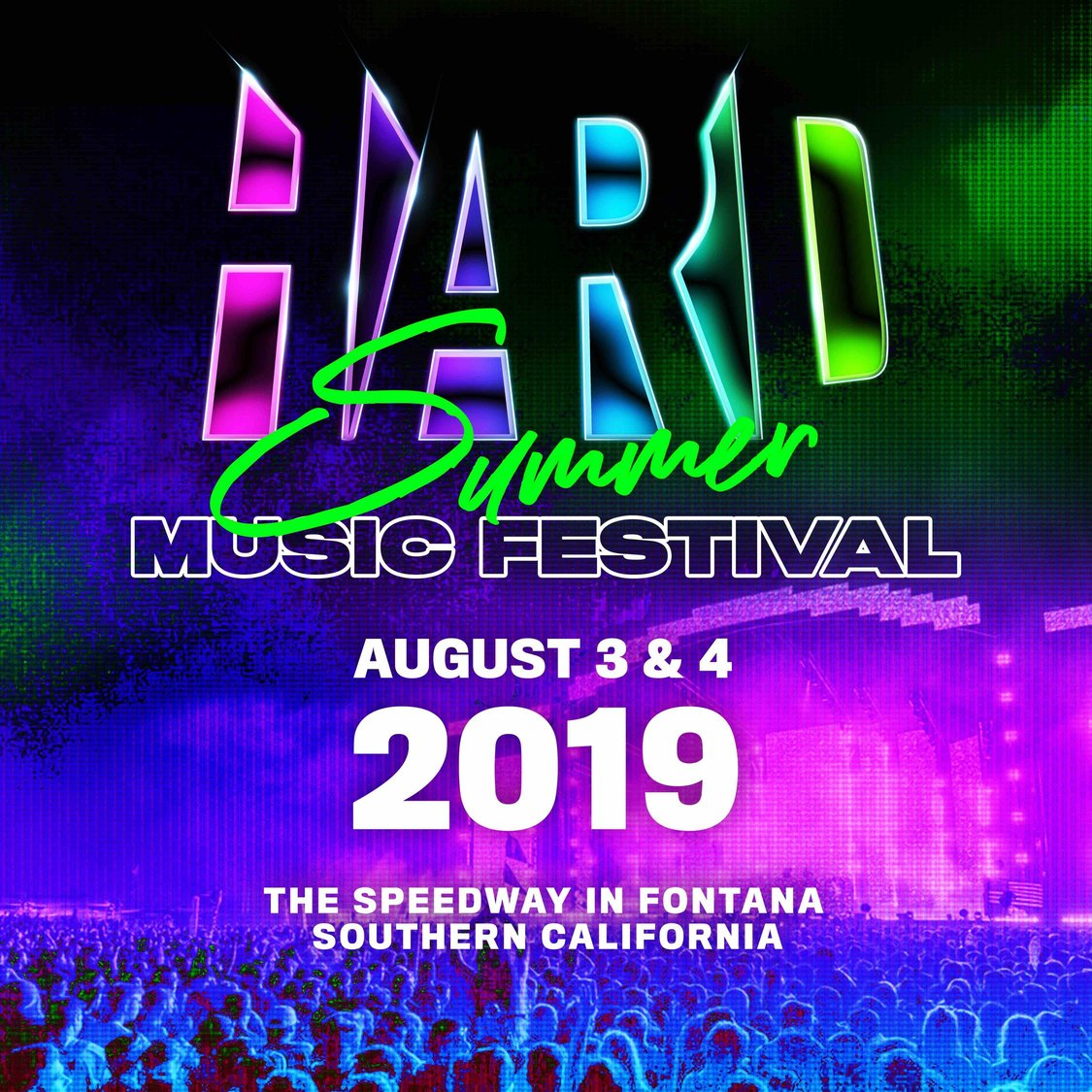 HARD Summer - Locker Rental