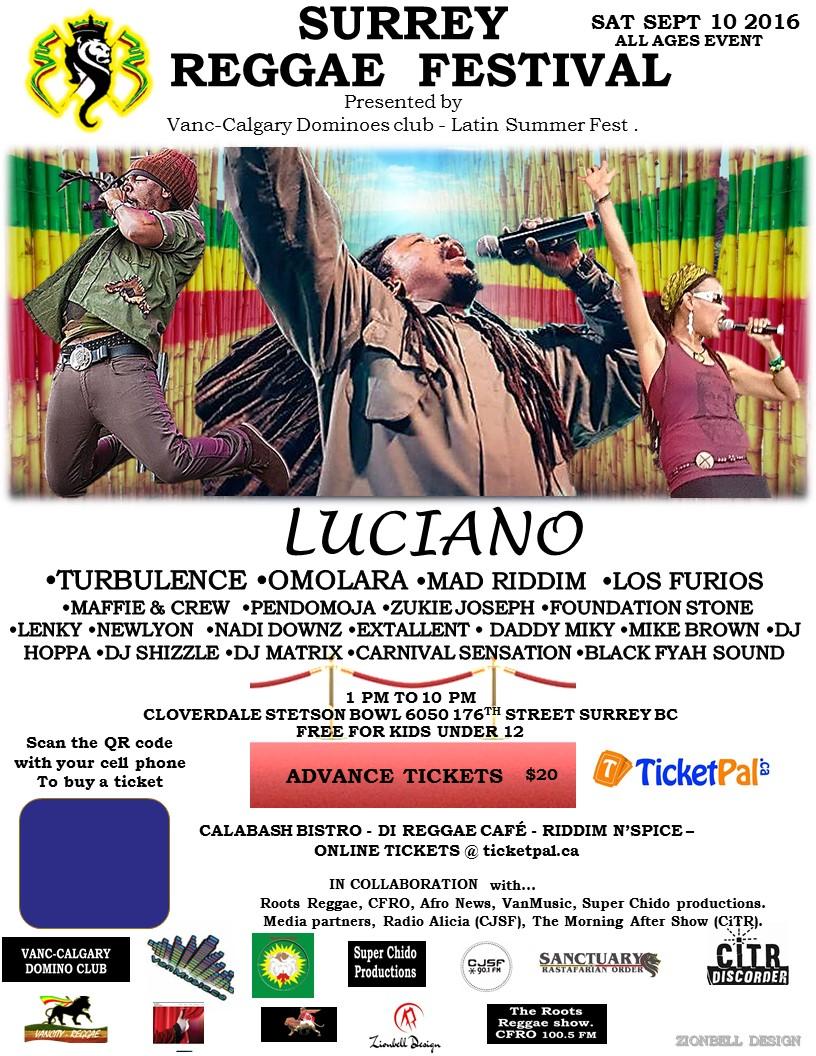 Surrey Reggae Festival