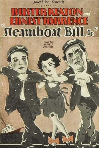 Steamboat Bill Jr- Silent Film @ BMHS 7:30pm