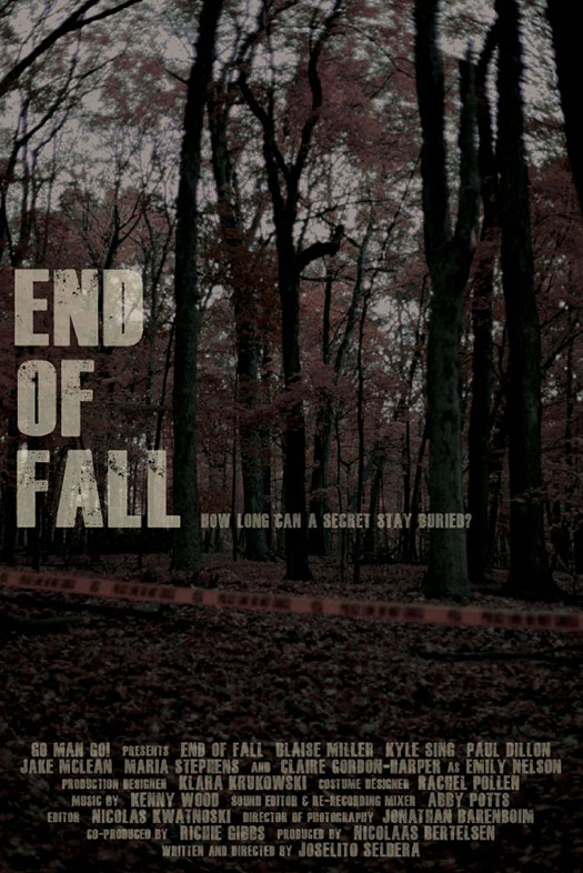 End of Fall  @ Domenicos - 7:30pm