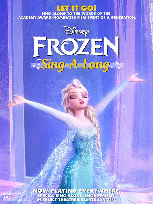 Frozen Sing-A-Long @ Luxury 10 7:30pm