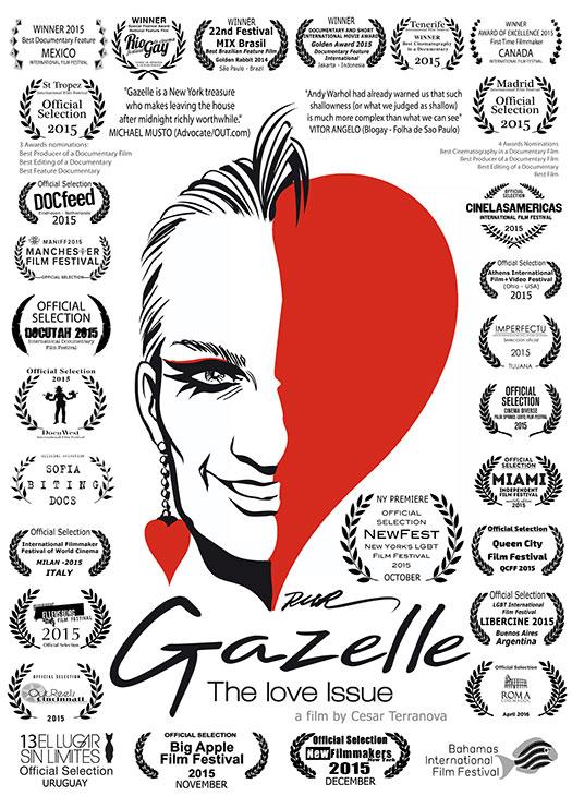 Gazelle - The Love Issue @ Hendrick's   Sat 2/20 - 7:30pm